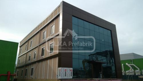 Prefabrik Çelik Bina