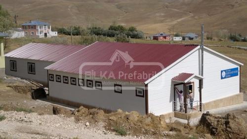 Prefabrik Okul